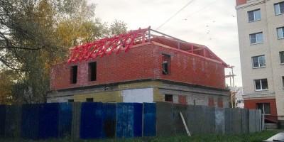 Шушары, Первомайская улица, 4, реконструкция