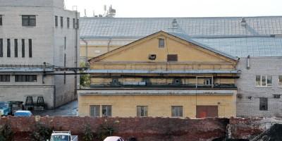 Снос на Лермонтовском, двор