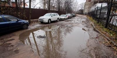 Солунская улица в Коломягах