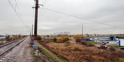Территория под застройку, Пулковское шоссе