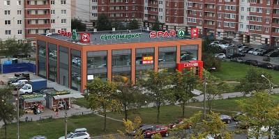 Улица Олеко Дундича, 33, торговый центр