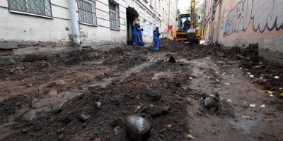 Улица Репина, капитальный ремонт