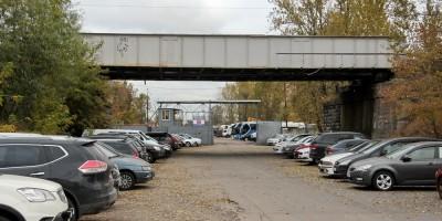 Варшавская улица, железнодорожный мост