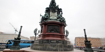 Исаакиевская площадь, памятник Николаю I