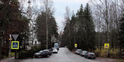 Зеленогорск, Клубная улица