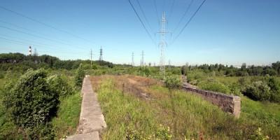 Железнодорожный путепровод, полотно
