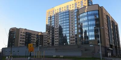 Жилой комплекс Линкор на улице Катерников, во дворе