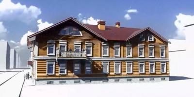 Дом на Церковной в Пушкине