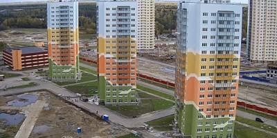 Дома на улице Корнея Чуковского