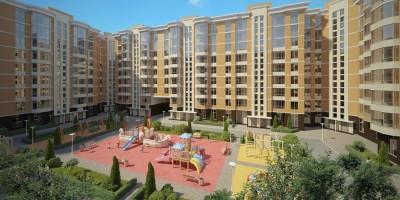 Двор жилого комплекса «Ломоносов»