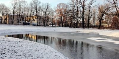 Динамо, пруд