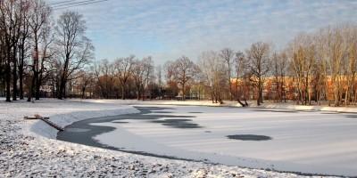 Динамо, пруд после благоустройства