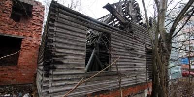 Ломоносов, воссоздание дома Полевой