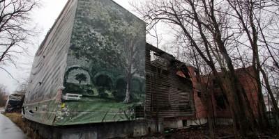 Ломоносов, воссоздание дома Полевой на Владимирской улице