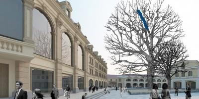 Музейная площадь в Апраксином дворе