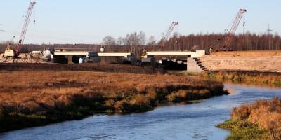 Новое Киевское шоссе, мост через Ижору