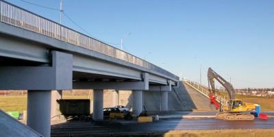 Новое Киевское шоссе, путепровод у станции Старое Мозино