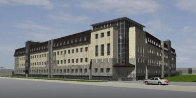 Проект здания РУВД в Пушкине