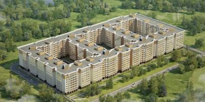 Проект жилого комплекса в Ломоносове
