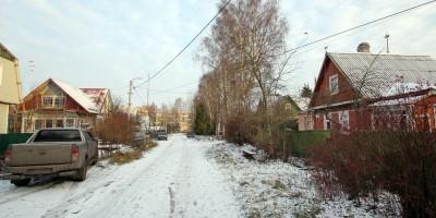 Проектируемая улица в Павловске