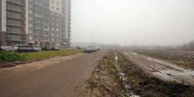 Русановская улица, поля