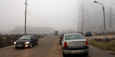 Русановская улица, спуск к реке