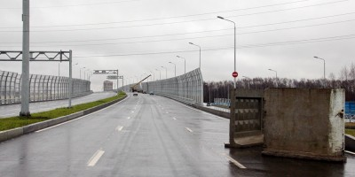 Суздальское шоссе, путепровод над железной дорогой