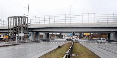 Выборгское шоссе, путепровод Суздальского шоссе