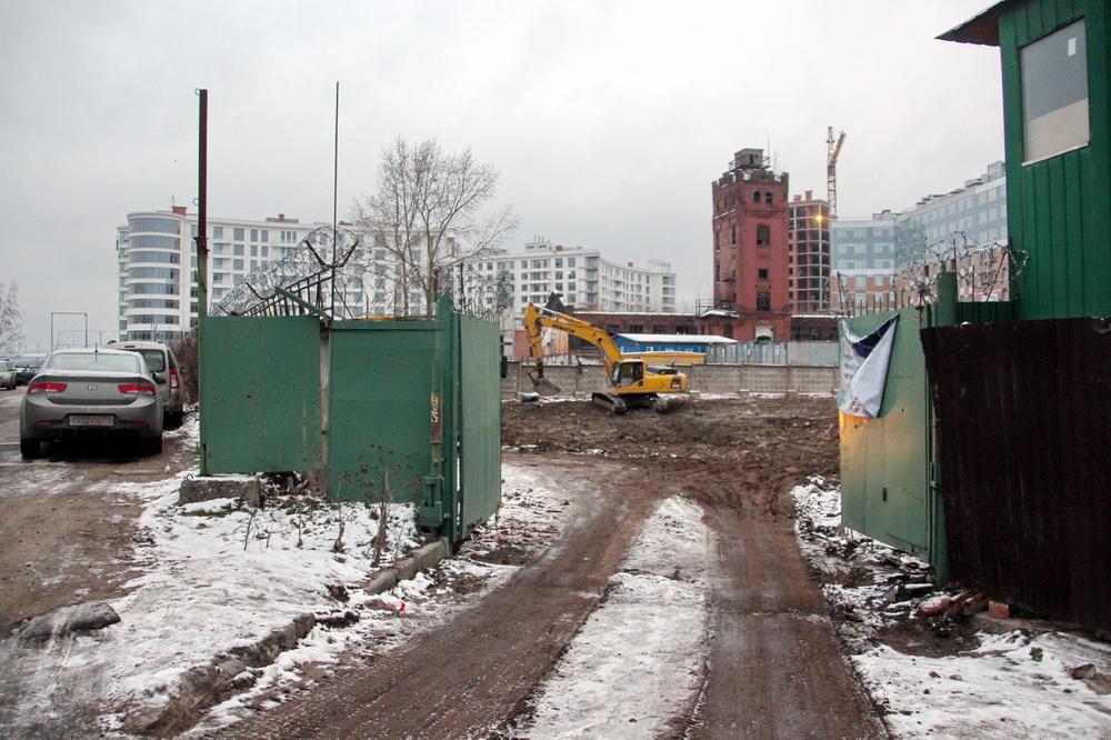 Ждановская набережная, снос