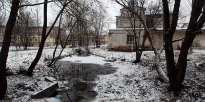 Академический проспект, ручей