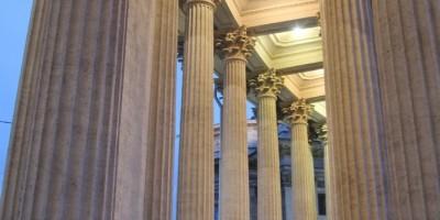 Казанский собор, колоннада