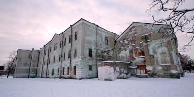 Колпино, улица Володарского, 6, дворовый фасад