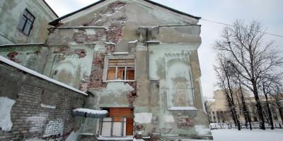 Колпино, улица Володарского, 6, задний фасад церкви