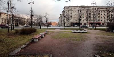 Московский проспект, 181, сквер