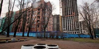 Московский проспект, 181, сквер, клумбы