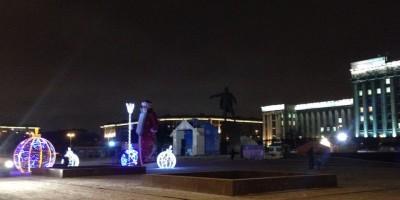 Памятник Ленину на Московской площади