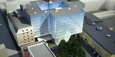 Проект бизнес-центра Сенатор на Чапаева