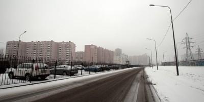 Шуваловский проспект, новый участок