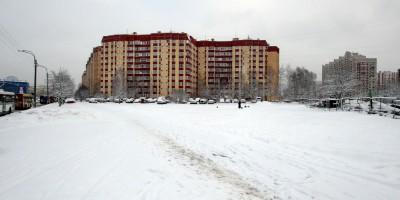 Сквер на улице Савушкина