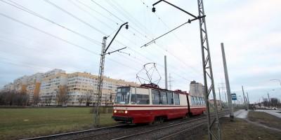 Трамвай на Петергофском шоссе