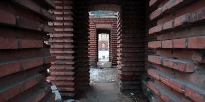 Улица Крупской, 14, арки