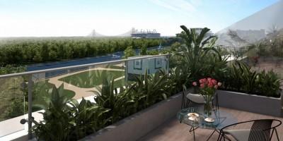 Вид с жилого комплекса «Елагин апарт»