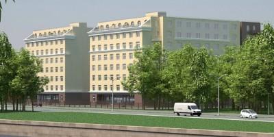 Жилой комплекс «Елагин апарт»