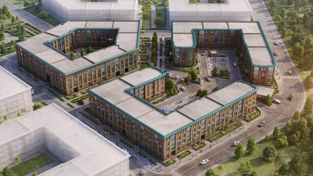 Жилой комплекс Неоклассика в Пулковском