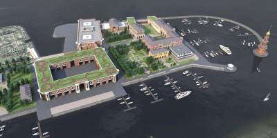 Концепция реконструкции яхт-клуба профсоюзов