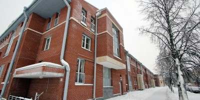 Кронштадт, улица Зосимова, 46, фасад вдоль Мартынова