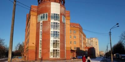 Поликлиника на улице Ленсовета, 54, корпус 2