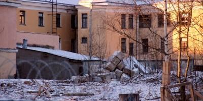Пушкин, Советский переулок, 2, снос