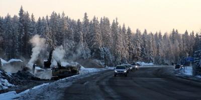 Скандинавское шоссе, расширение