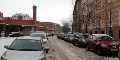 Среднегаванский проспект, безымянный переулок